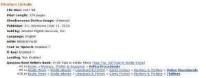Chalk #146 on Amazon June 2013